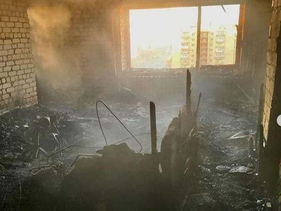 В Ставрополе из-за пожара в многоэтажке погиб человек