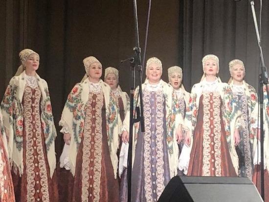 Северный хор три дня развлекал сербов песнями и плясками