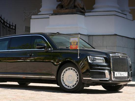 В Омск приехал президентский лимузин
