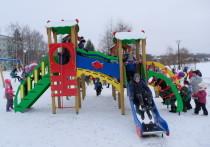 В Лысьве в рамках нацпроекта обновили Детский парк
