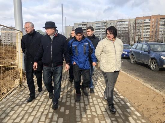 Артамонов осмотрел основные строительные площадки Калуги