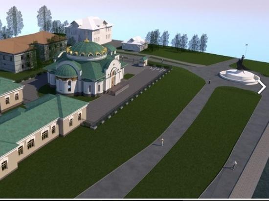 Карельской Епархии не разрешали строить храм на петрозаводской набережной