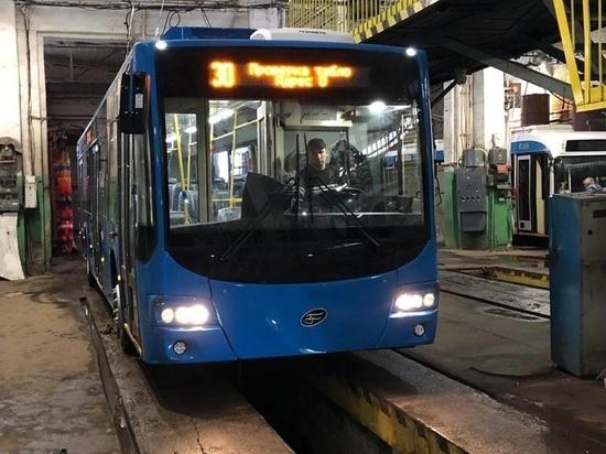 В Киров пришли новые троллейбусы