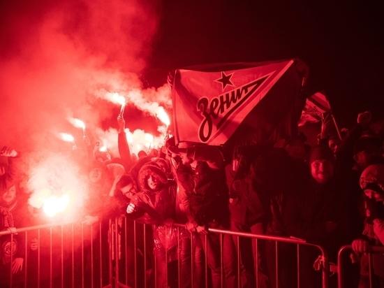 Фаната «Зенита» арестовали за сожжение шарфа
