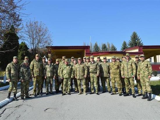 В Кабардино-Балкарии состоялись сборы специалистов-техников Росгвардии