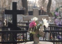 В Курской области в выходные дни задержали трех девочек в возрасте от 13 до 15 лет, которые разрушали на кладбище надгробья