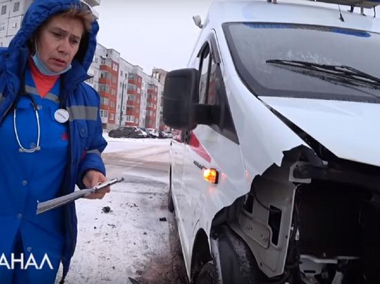 В Северодвинске ищут сбежавшего водителя машины, протаранившей скорую