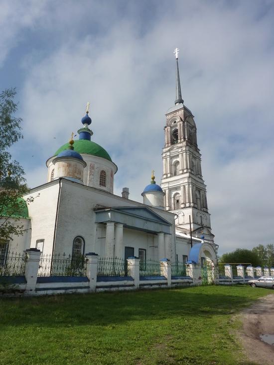 Поможем в ремонте церкви села Давыдово