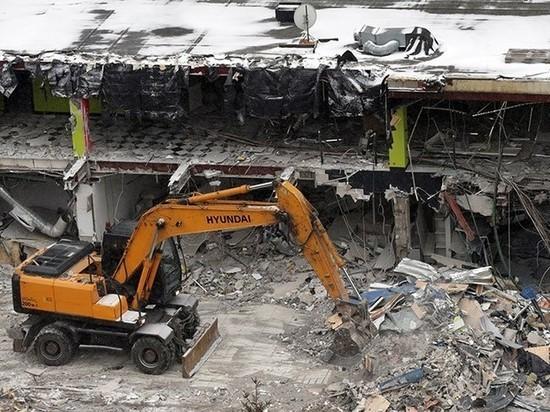 В Новом Девяткино снесут опасный для жизни покупателей торговый центр