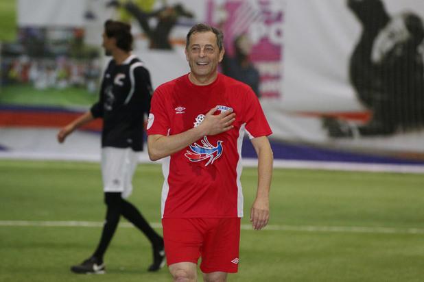 В Москве состоялся уникальный футбольный матч