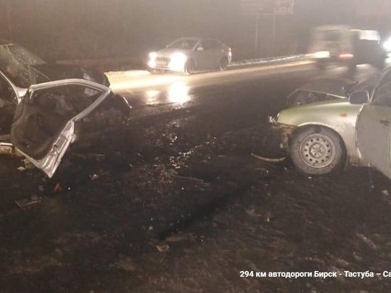 ДТП в Челябинской области: один человек погиб, двое в больнице