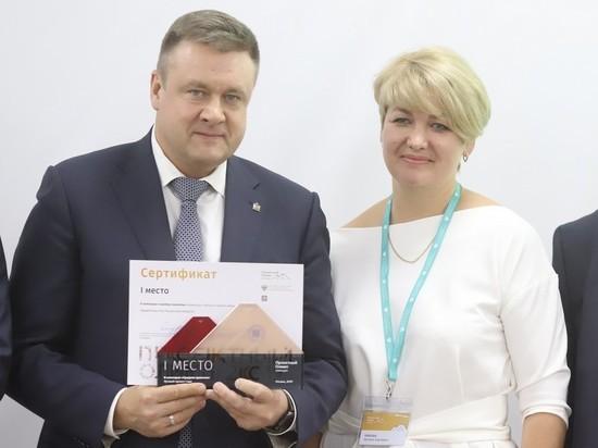 Николай Любимов получил награду за перевод региональной власти на новые принципы работы