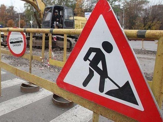 Volvo опрокинулся на месте ремонта дороги в Забайкалье