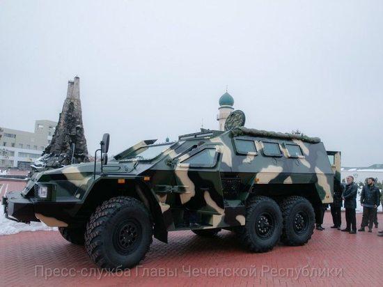 Кадыров рассказал о выпуске бронеавтомобиля в Чечне