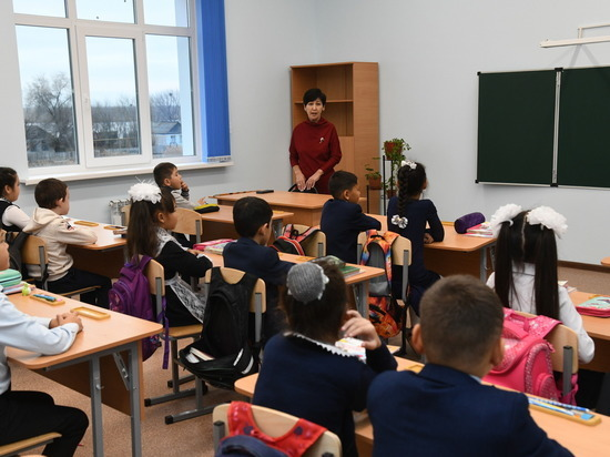 В волгоградском селе открылась новая школа