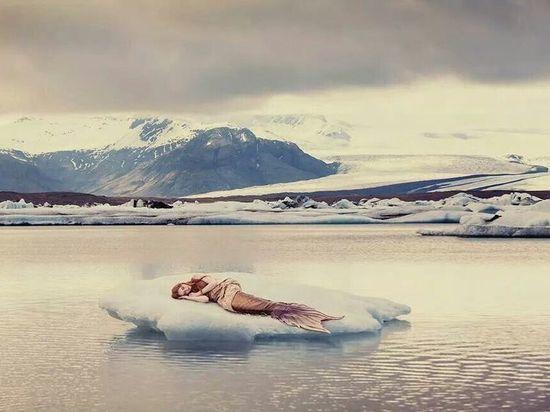 Архангельская дева чуть не уплыла на льдине в Белое море