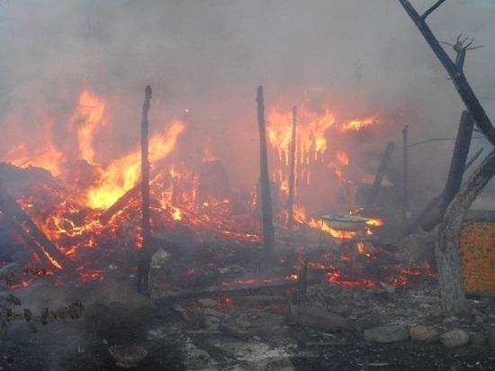 Дачный погорелец из Котласа разбирал полусгоревшую дачу и спалил её окончательно