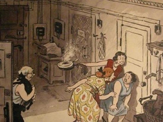 Тётка залезла в комнату архангельской коммуналки и подралась с хозяйкой за унитаз