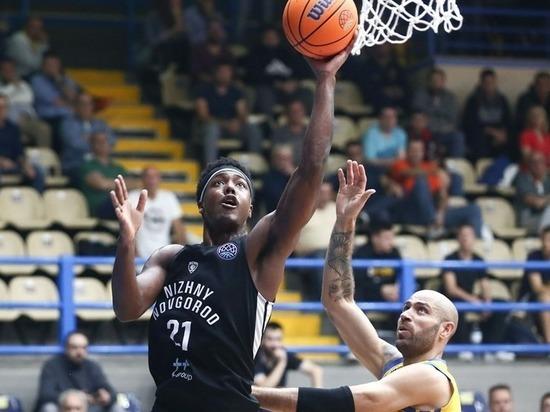 БК «Нижний Новгород» обыграл греческий клуб в европейском турнире