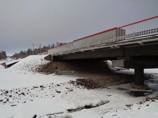 Обновленный мост из сталефибробетона появился на трассе в Забайкалье