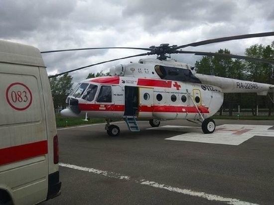 Более 200 человек доставили в Тверь на вертолетах санитарной авиации
