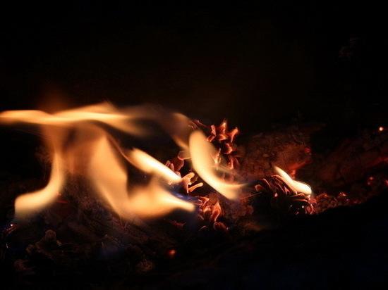 В поселке Силикатный Марий Эл из-за пожара эвакуировали 12 человек