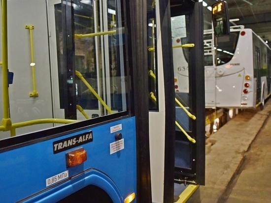 Новые троллейбусы снабжены умной системой