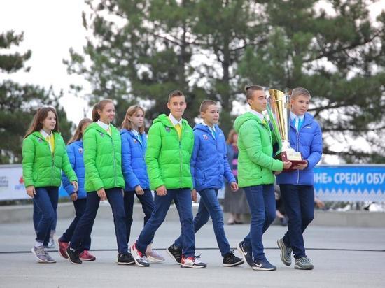 Дети из ЯНАО выступили на фестивале ГТО в «Артеке»