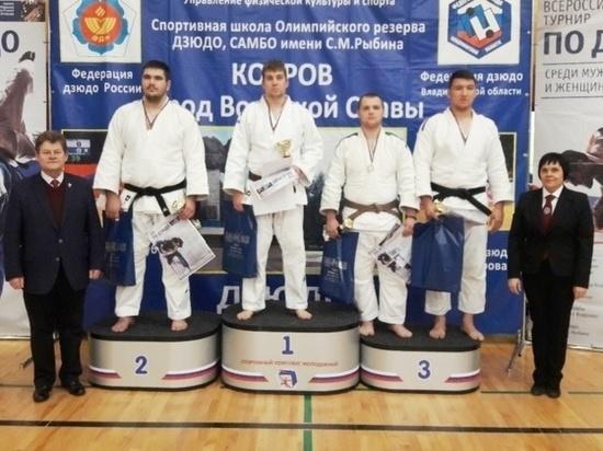 Дзюдоисты из Иванова завоевали на Всероссийском турнире три медали