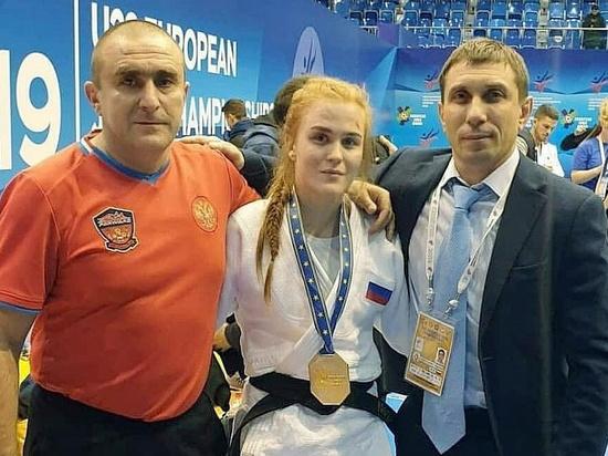 Кубанская спортсменка завоевала «серебро» первенства Европы по дзюдо