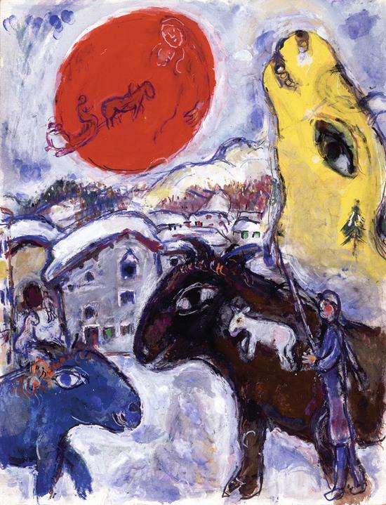 """239 картин Шагала покажут в """"Новом Иерусалиме"""""""