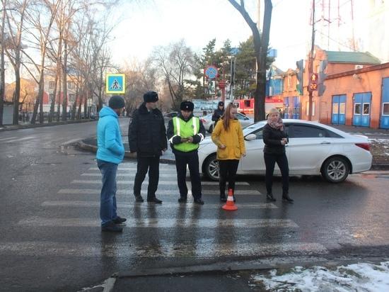 В Хакасии снова иномарка сбила школьницу