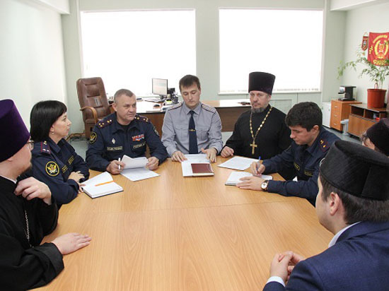 В Югре обсудили вопросы взаимодействия традиционных религиозных конфессий в деле духовного просвещения осужденных