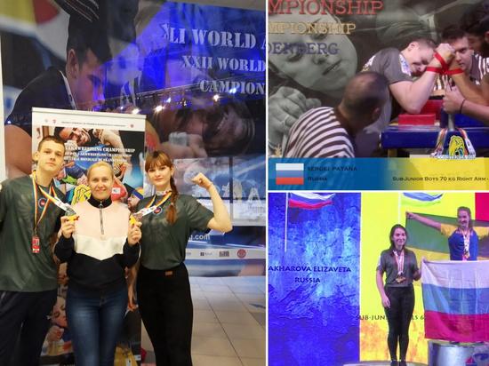 Спортсмены из Иванова завоевали три медали на мировом первенстве по армрестлингу