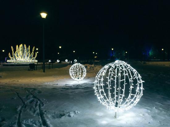 В трёх поселениях Сургутского района появилась художественно-архитектурная подсветка