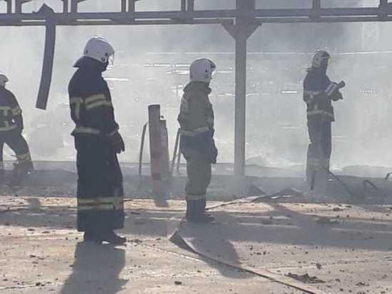 Пять человек пострадали в пожаре на нефтебазе «Грушовая» в Новороссийске