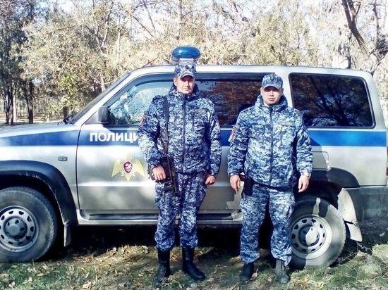В Крыму два росгвардейца ликвидировали пожар в высотке