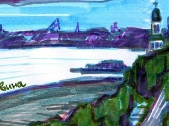 За неимением примера перед глазами в Архангельске предложили чистый город рисовать