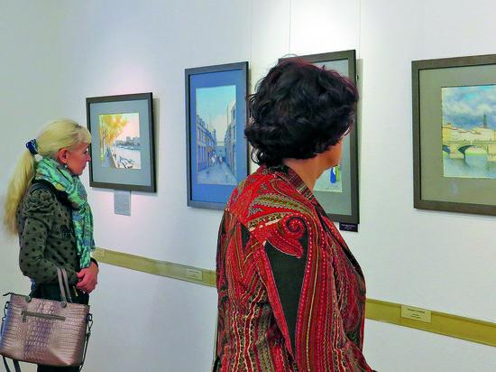 В НГВК открылась выставка пейзажей