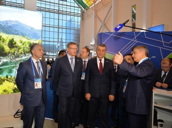 В Омске продолжается XVI Межрегиональный форум сотрудничества России и Казахстана