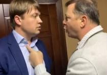 На Украине завели дело после драки Ляшко с депутатом Зеленского