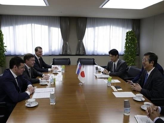 Дмитрий Миронов обсудил сотрудничество с руководством японского концерна «Komatsu»