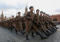 В Москве повторили парад 7-го ноября 1941 года