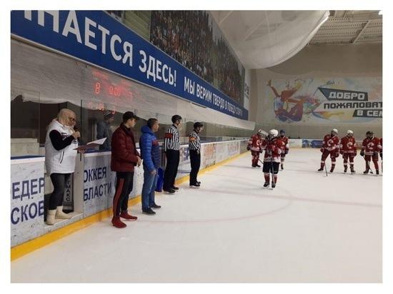 Хоккеисты из Серпухова обыграли жуковскую команду «Метеор»