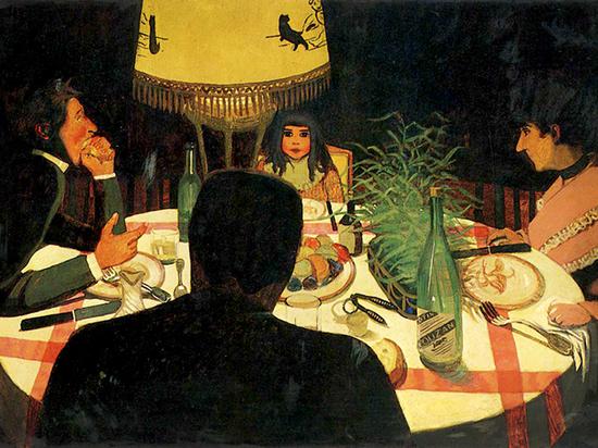 Феликс Валлоттон в музее Метрополитен