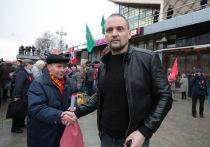Удальцов на марше 7 ноября предрек России революцию в ближайшие годы