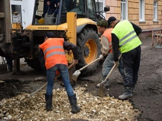Восстановление благоустройства на контроле главы города Тамбова