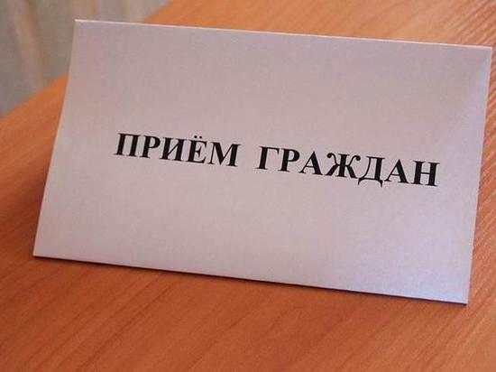 Тамбовчан выслушают руководитель регионального СКР и глава города