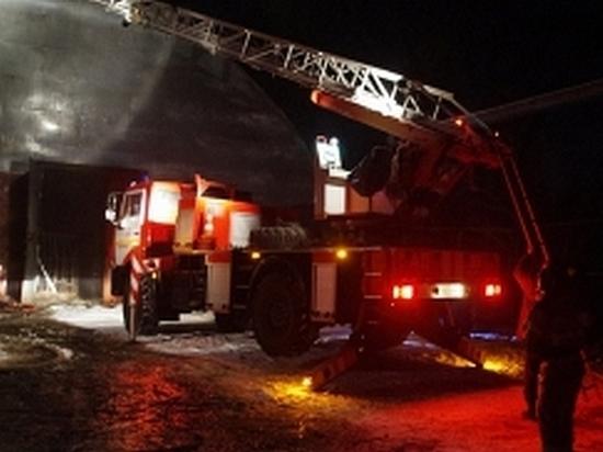 На судзаводе Хабаровска произошел пожар