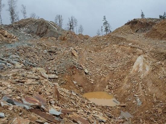 В Башкирии остановили «хищническое разграбление» плитняка